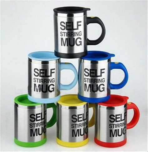 jual gelas mug self stirring new gelas aduk ajaib di