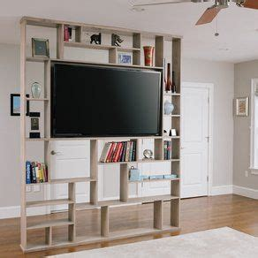 tv stand  middle  room google search clutter