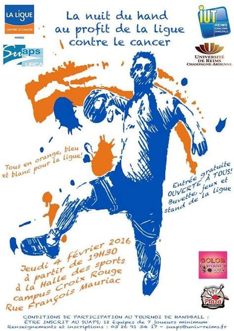 la nuit du handball au profit de la ligue contre le cancer