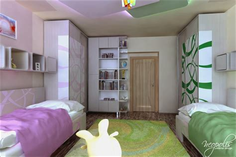original childrens bedroom design showcasing vibrant