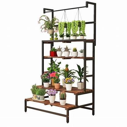 Plant Pot Flower Indoor Shelves Display Pergola