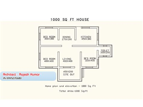 single storey budget house design  plan   sqft