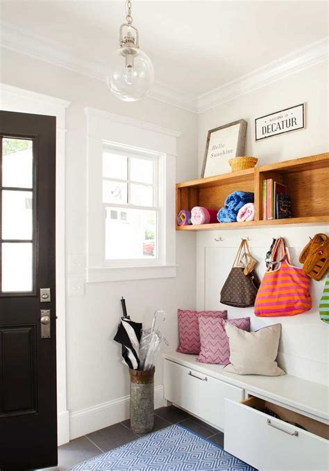 entryway furniture ideas that maximize style - Entryway Shelving