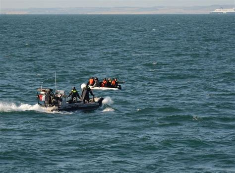 Migrants with severe hypothermia rescued from capsized ...