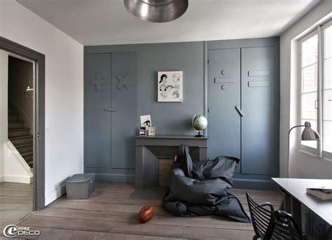 chambre garcon gris chambre de gar 231 on couleur gris dauphin chez flamant loft