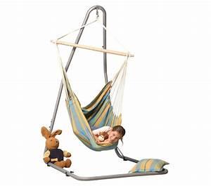 Support Chaise Hamac : hamac chaise large brasil lemon avec support luna ~ Melissatoandfro.com Idées de Décoration