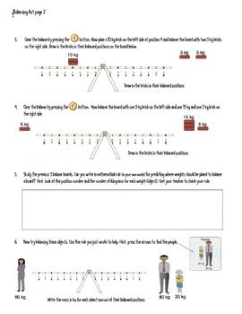Balancing Act Worksheet Key The Best Worksheets Image Collection  Download And Share Worksheets