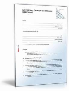 Vorläufiger Kaufvertrag Haus Vorlage : unternehmenskaufvertrag muster f r asset deal zum download ~ Orissabook.com Haus und Dekorationen