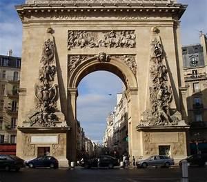 porte saint denis paris 10 th 1672 structurae With porte a paris