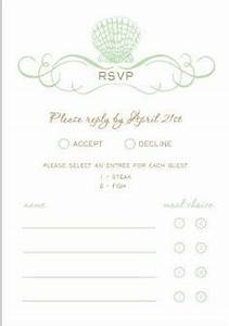 sit down plated dinner rsvp cardscan you post some pics With wedding invitation wording no sit down dinner