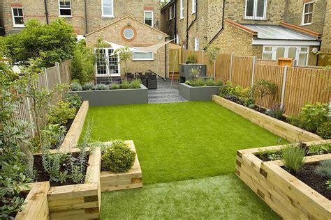 Wimbledon Family Garden Design With Formal Dining Terrace