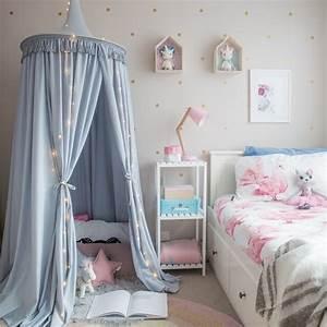 Baldachin Für Kinderzimmer : diy ideen wie sie einen baldachin im kinderzimmer selber machen ~ Frokenaadalensverden.com Haus und Dekorationen