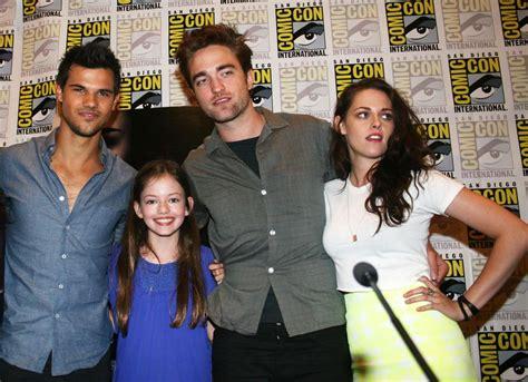Twilight, M6 : Renesmée, l'enfant de Belle et Edward est d ...