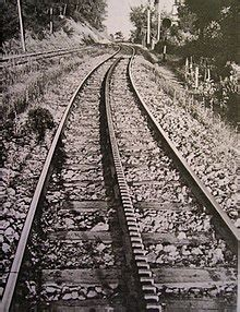 treno cremagliera rack railway