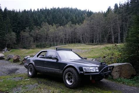 lifted lexus sedan lexus ls400 lifted off road family cars pinterest