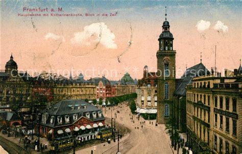 Zeil Online by Ak Ansichtskarte Frankfurt Main Hauptwache Mit