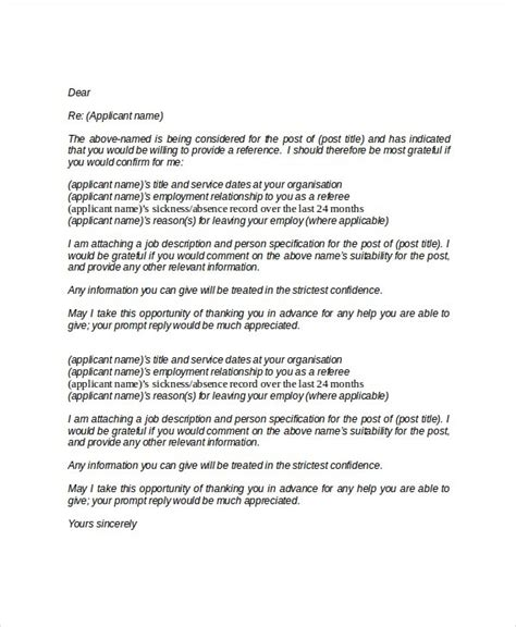 professional references letter template 28 images