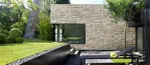 Pierre Parement Extérieur : facade les plaquettes de parement habitatpresto ~ Nature-et-papiers.com Idées de Décoration