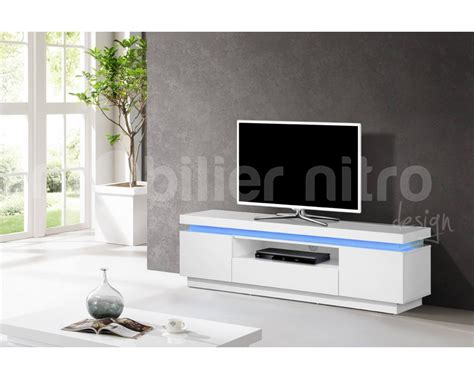 Perfect Meuble Tele Laque With Meuble Tv Blanc Laqu Fly