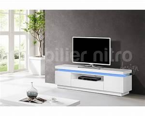 Meuble Tv Suspendu Conforama : meuble laqu blanc conforama gallery of top conforama ~ Dailycaller-alerts.com Idées de Décoration