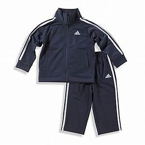 adidas® Kids Boy's Tricot Tracksuit in Navy - buybuy BABY