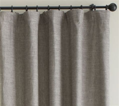 Pottery Barn Curtains Linen by Emery Linen Drape Pottery Barn Decor