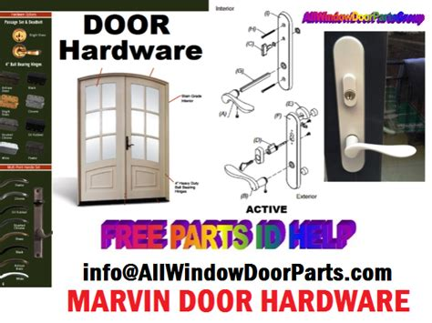 marvin window  door replacement repair parts truth window hardware