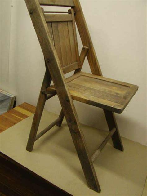 antique wooden folding chair antique furniture