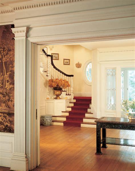 Colonial Revival Interior Design  Old House Restoration