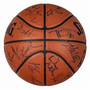 Lot Detail - 2002 NBA All Star Game Used Team Signed ...