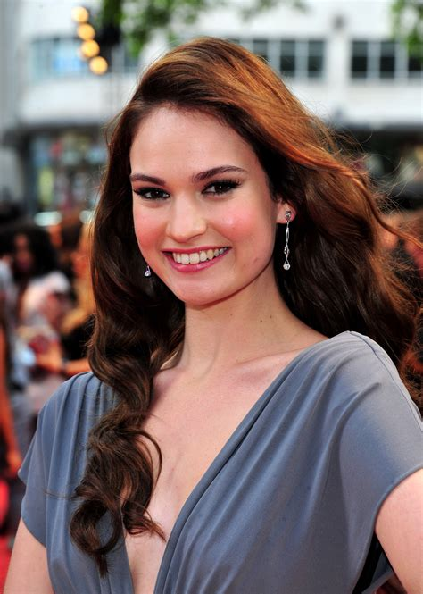 Lily James summary | Film Actresses