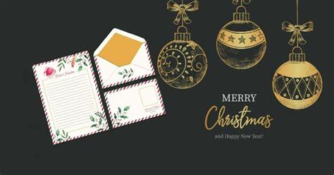 contoh desain gambar kartu ucapan hari natal terbaru