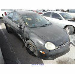 2000 DODGE NEON REBUILT SALVAGE