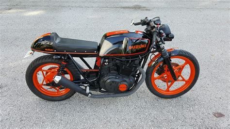 1981 suzuki gs450 cafe vintage speed concepts cafe racer for sale riders on the