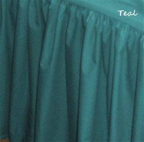 """Solid Solutions Bedskirt 14""""  21""""   Retro Barn Country Linens"""