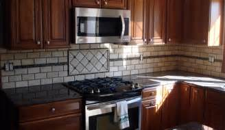 tile borders for kitchen backsplash backsplash with glass mosaic border jersey custom tile