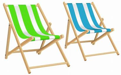 Chair Beach Chairs Clip Transparent Clipart Background