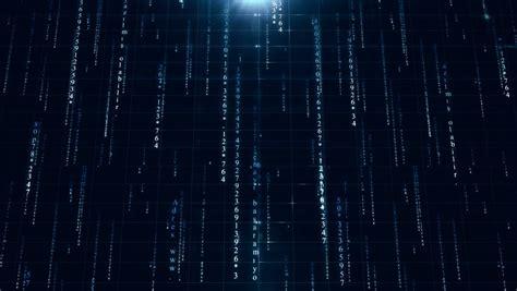 digital data background   stock footage video