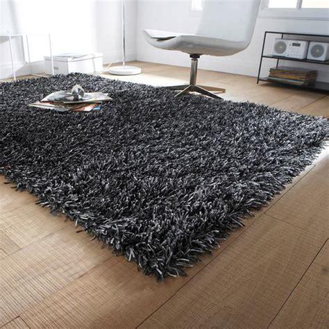 tapis shaggy pour une atmosphere douce  confortable