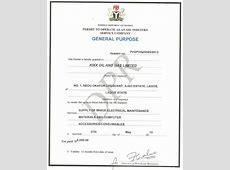 Our Certificate Kixx Oil & Gas
