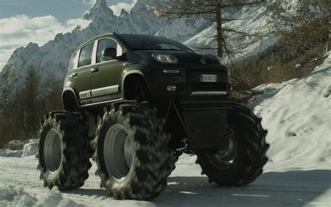 Fiat Panda Monster Truck 2018 Widescreen Exotic Car