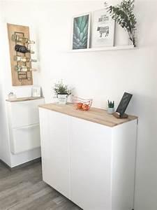 Ikea Möbel Individualisieren : ikea hack metod wandschrank als sideboard teil ii elfenweiss ~ Watch28wear.com Haus und Dekorationen