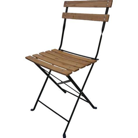 chaises pliantes bois 4 chaises pliantes bistro bois achat vente fauteuil