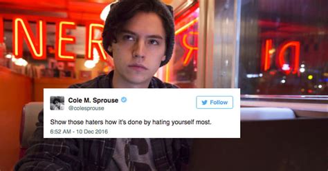 tweets  cole sprouse thatll   laugh  loud