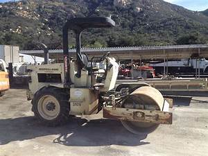 2000 Ingersoll F Vibratory Single Drum Roller For Sale  1 616 Hours