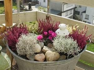 Blumenkübel Bepflanzen Vorschläge : bepflanzte zinkwanne autumn pinterest zinkwanne herbstdeko und g rten ~ Whattoseeinmadrid.com Haus und Dekorationen