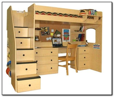 queen bed with desk 1000 images about bunks on pinterest chair bed