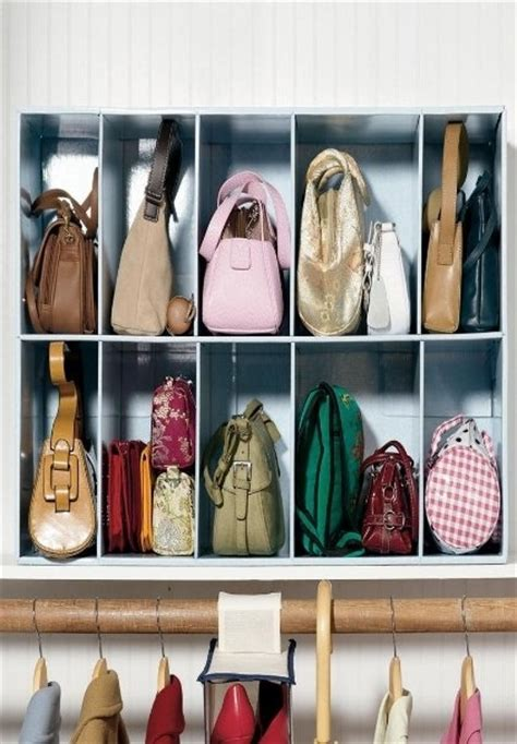 Purse Closet by Tips And Tricks To Organizing Your Closets Beneath My