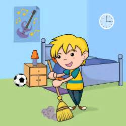 Image result for cartoon tidying
