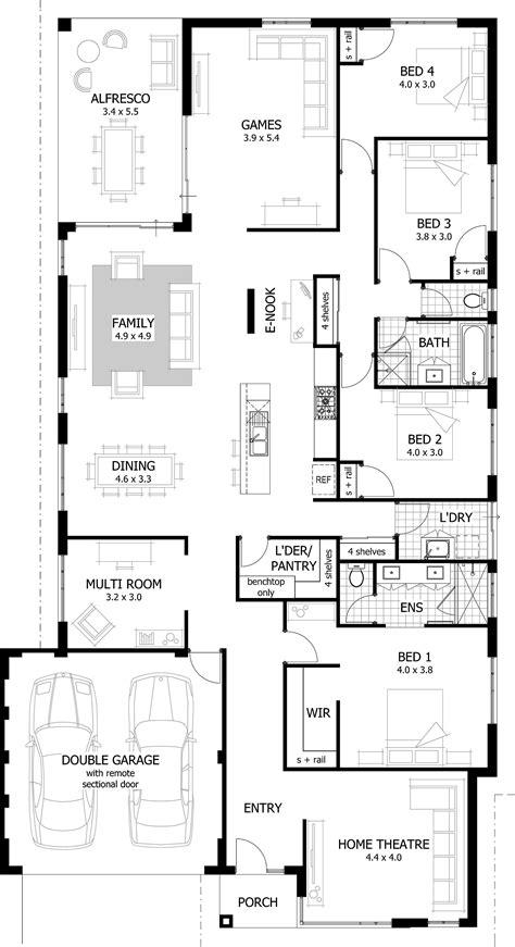 huge selection  home designs   single story narrow lot house plans